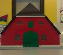 Actiefoto van actie Lego-boerderij op schaal