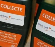 Actiefoto van actie Oranje Fonds collecte 2017
