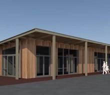 Projectfoto van project Nieuwbouw Scouting Esjeeka