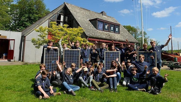 Projectfoto van project Zonnepanelen op het dak