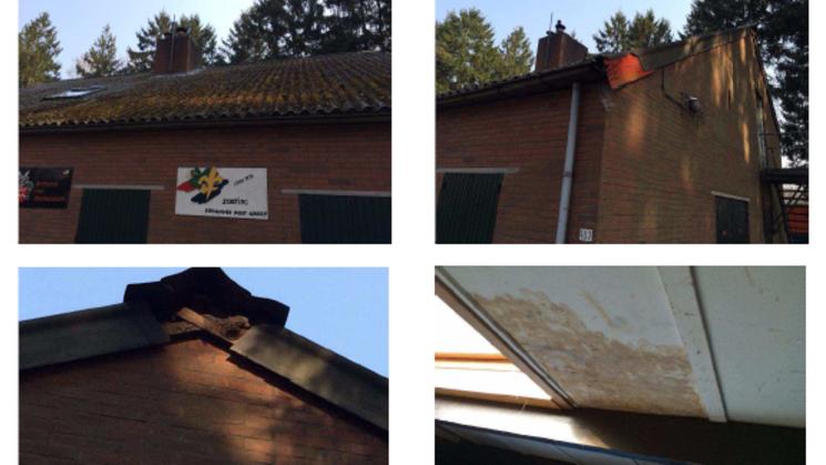 Projectfoto van project Vervanging dak van het scoutinggebouw