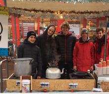 Teamfoto van team Kerstmarkt Njv de Haven Heemstede 2018