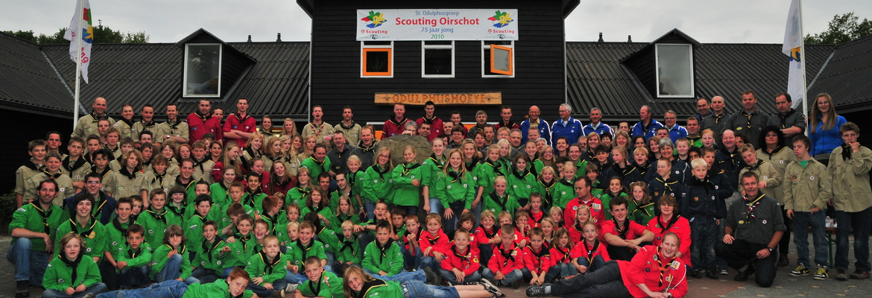 Banner van groep Scouting Sint Odulphus Oirschot
