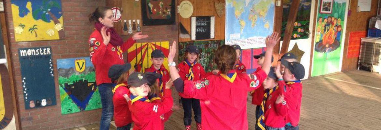 Banner van club Scouting Die Kantanky's